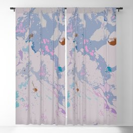 Cotton Candy 90's style Blackout Curtain
