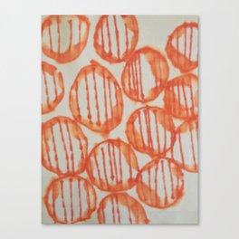 O-range Lanterns Canvas Print