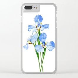 Goblet Flower Clear iPhone Case