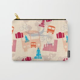 Travel Fever Carry-All Pouch