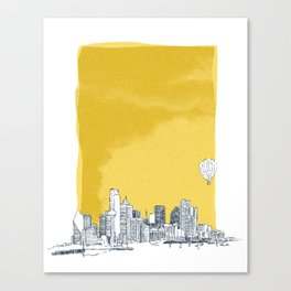 Dallas Canvas Print