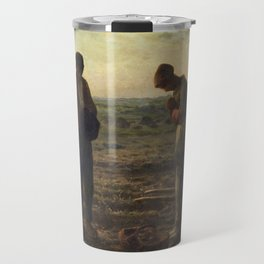 The Angelus by Jean Francois Millet Travel Mug