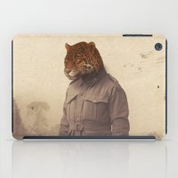 jungle iPad Cases featuring Jungle Jaguar by Chase Kunz