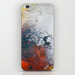 Fall, fall colored abstract, NYC artist iPhone Skin