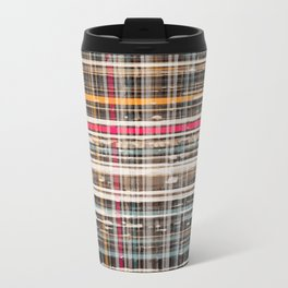 structure with red lines Travel Mug