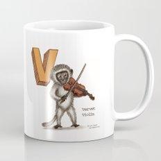 Animals & Instruments ABCs – V Coffee Mug