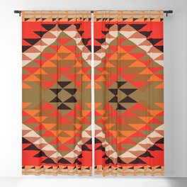 American Native Pattern No. 304 Blackout Curtain