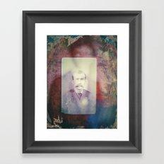 The story Framed Art Print