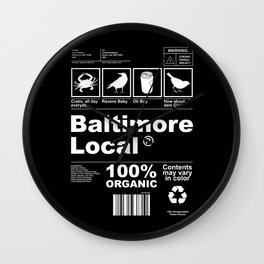 Baltimore Local Wall Clock