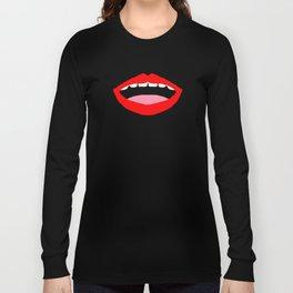 Mouthful of Talkies Long Sleeve T-shirt