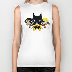 Supertough Girls Biker Tank