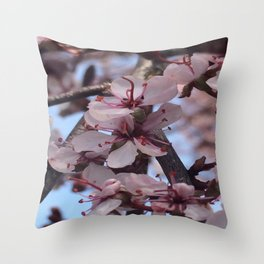 Bloomin' Blossoms #2 Throw Pillow