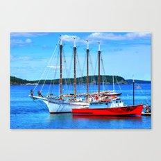Maine Life Canvas Print