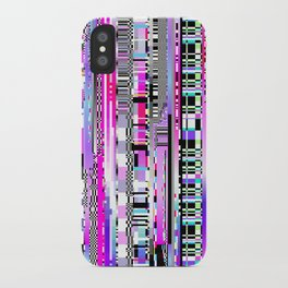 Glitch Ver.3 iPhone Case