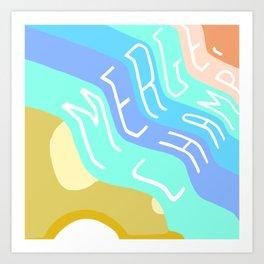 Merge, Champ Art Print