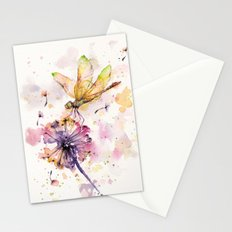 Dragonfly & Dandelion Dance Stationery Cards
