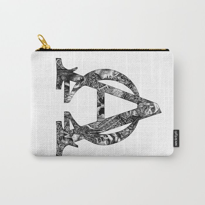 Alpha/Omega Carry-All Pouch