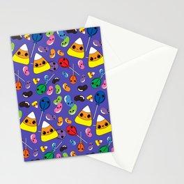 Kawaii Halloween Candy Stationery Cards