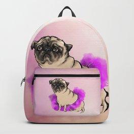 Depressed tutu pug Backpack