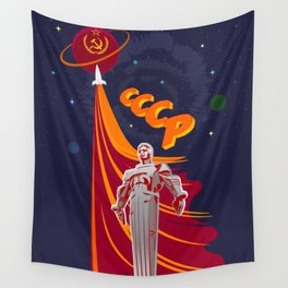 Soviet Propaganda. Pioneers Wall Tapestry