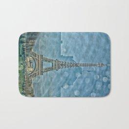 Tour Eiffel reflet Bath Mat