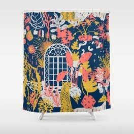 Patio to Paradise Shower Curtain