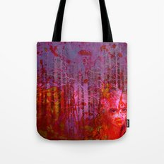 The clearing of the bloodthirsty witch Tote Bag