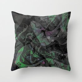 Abstract DM 04 Throw Pillow
