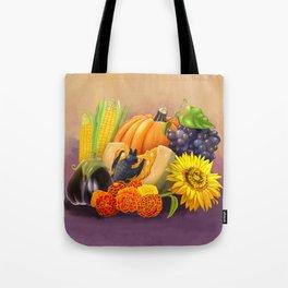 Commisions | Bat autumn harvest Tote Bag