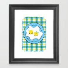 Egg Love Framed Art Print