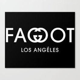 FA**OT LOS ANGELES Canvas Print