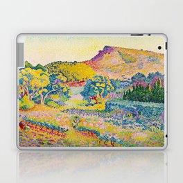 Henri-Edmond Cross Neo-Impressionism Landschaft mit Le Cap Nègre Paysage avec le cap Nègre Laptop & iPad Skin