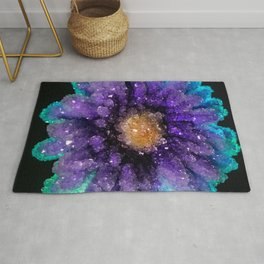 Crystalized Flowers Rug