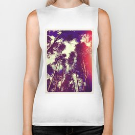 There is a pleasure in the pathless woods... Biker Tank