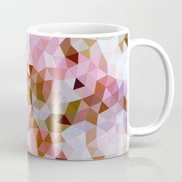 Design 108 Pink Brown Mosaic Coffee Mug