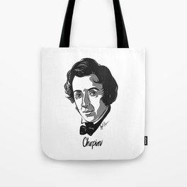 Frederic Chopin composer Tote Bag