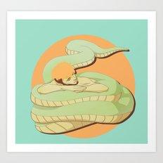 Naga Boy Art Print