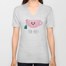 Tea-Hee Unisex V-Neck