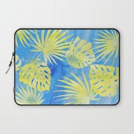Tropical Leaves Pattern 4 Laptop Sleeve