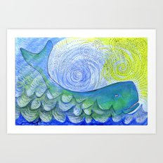 Healing Sounds Art Print