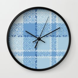 The Magic Of Interlaced Line Art Wall Clock