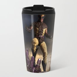 X-Men: Sentinel Diorama Series I (Logan) Travel Mug