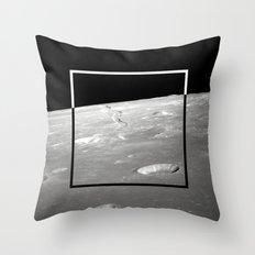 Moon Geometry Throw Pillow