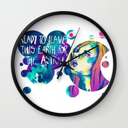 The Astral Wall Clock