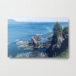 Alaska Cliff pt.2 Metal Print