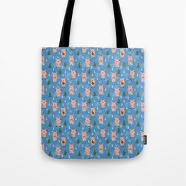 New Year's piglets. Tote Bag