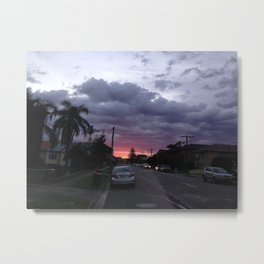 SublimeSuburbia Metal Print