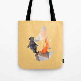 Butterfly Tail Goldfish. Tote Bag