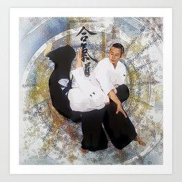 Aikido, Tenchi Nage Art Print