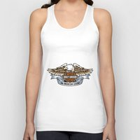 harley Tank Tops featuring harley by Megoer